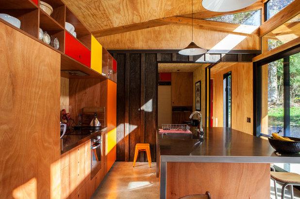 Trendy Køkken by Dorrington Atcheson Architects