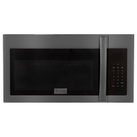 ZLINE Over the Range Convection Microwave Oven in Black Stainless Steel