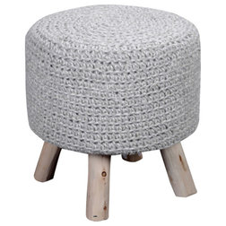 Scandinavian Footstools And Ottomans by GDFStudio