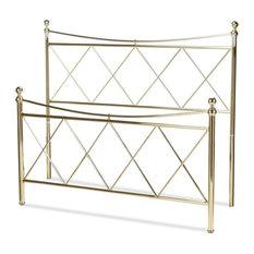 Lennox Bed, Duo Panels, Diamond Pattern Design, California King