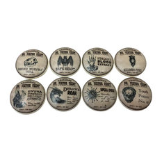 Spells and Potions Cabinet Knobs, Set of 8