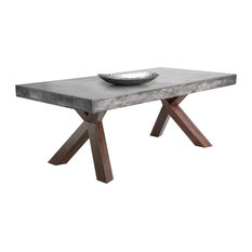Concrete Dining Room Tables Houzz