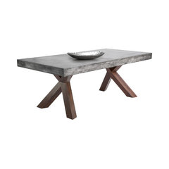 Featured Reviews Of Concrete Top Dining Room Tables