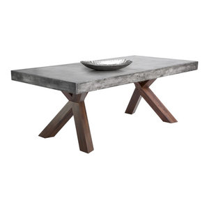 Concrete Edge Dining Table
