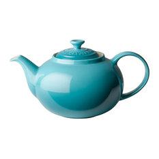 Le Creuset Stoneware Classic Teapot, 1.3 L, Teal