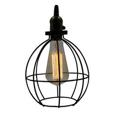 Industrial Cage Pendant Lights  Houzz