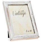 hermann distressed wood frame white - White Wood Picture Frames