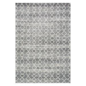 Bosphorus Moroccan Trellis Rug, Gray, 8'x10'