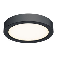 "DALS Lighting CFLEDR06 Indoor/Outdoor 6"" Wide LED Flush Mount Ceiling Fixture"
