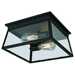 Transitional Outdoor Flush-mount Ceiling Lighting by Eleven 75 Design Inc