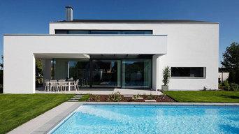 Einfamilienhaus mit Schwimmbad - Dipl. Ing. Christine Köhle - Freie Architektin