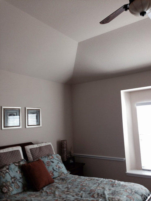 Painting Help For Slanted And Tray Ceiling