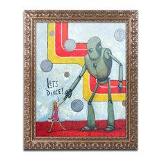 'Let'S Dance' Ornate Framed Art, 20x16