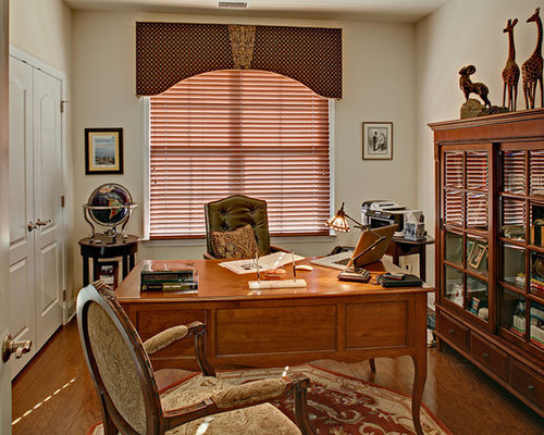 Astounding 700 French Country Home Office Design Ideas Remodel Pictures Houzz Largest Home Design Picture Inspirations Pitcheantrous