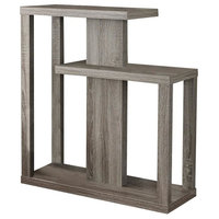 """Accent Table, 32"""", Dark Taupe Hall Console"""