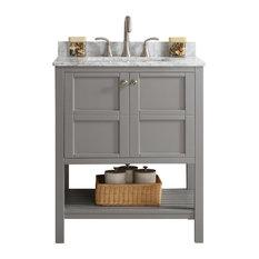 Bathroom Vanities Gray gray bathroom vanities | houzz