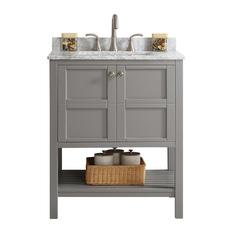 vinnova florence vanity gray without mirror 30 bathroom vanities and - Bathroom Vanitiy
