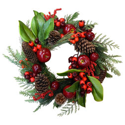 Rustic Wreaths And Garlands by MILLS FLORAL COMPANY