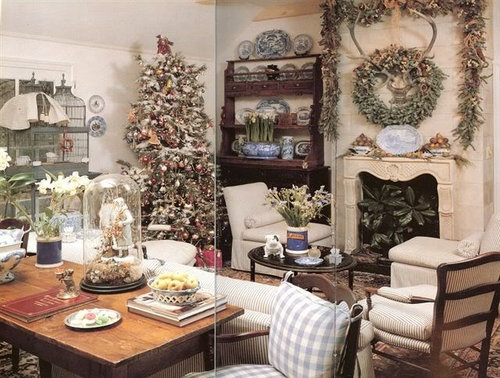 Charles Faudree French Country Decorating: A Holiday Home Tour
