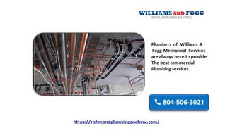 Get the best services for commercial plumbing and sewer line