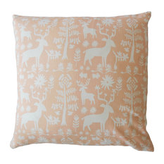 "The Pillow Collection Inc. - Faigel Animal Print Down Filled Throw Pillow, Sundown, 20""x20"" - Outdoor Cushions and Pillows"