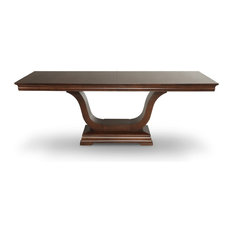 "Royale Pedestal Table, 42""x72"""