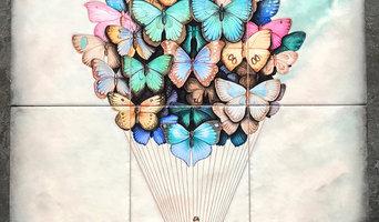 Butterflies cloud
