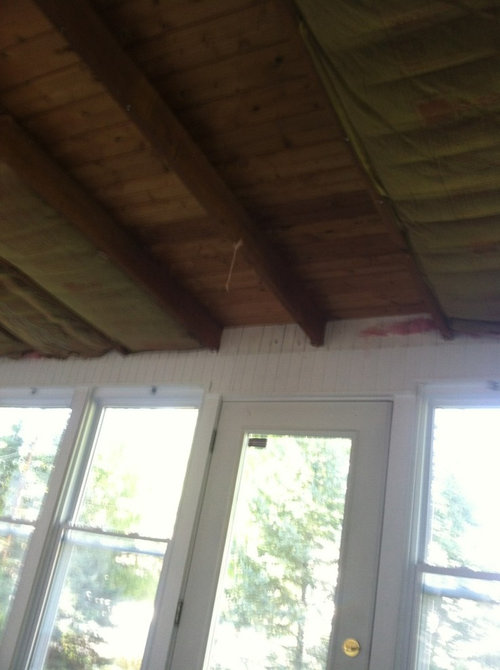 How To Finish Drywall Around Wood Joists