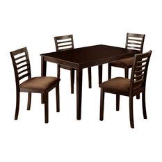 Landon 5Pc Transitional Style Dinning Set