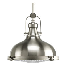 1-Light Pendant, Brushed Nickel