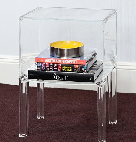 Nightstands And Bedside Tables: Kartell Small Ghostbuster Table    Nightstands And Bedside Tables