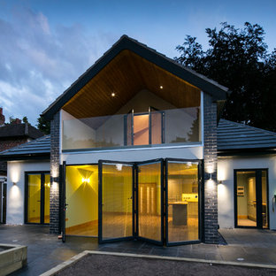This is an example of a contemporary exterior in Other.