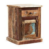Driftwood Reclaimed Wood Bedside Table
