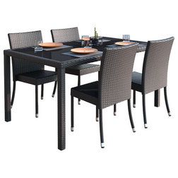 Contemporary Outdoor Dining Sets by CorLiving