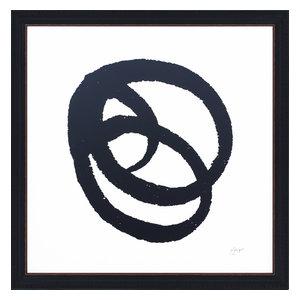 """Kinetic"" Framed Print, 65x65 cm, ""Classic Kinetic"""