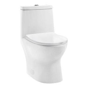 Ivy One-Piece Toilet, Dual Tornado Flush, 1.28 GPF