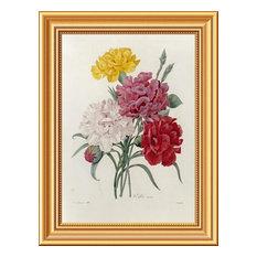 """Carnations"" Artwork, 15.32""x20"""