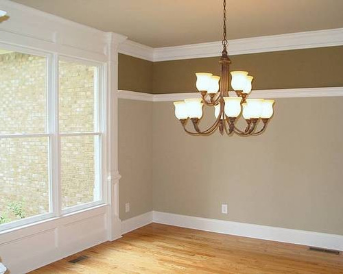 saveemail - Dining Room Two Tone Paint Ideas