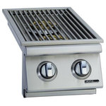 Bull Outdoor Products - Bull Outdoor Products 30009 Slide-In Double Side Burner Natural Gas - Features: