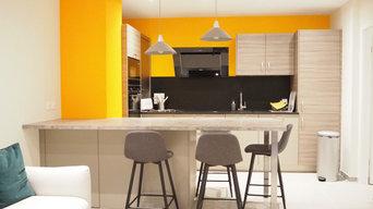 Aménagement et décoration d'un appartement strasbourgeois