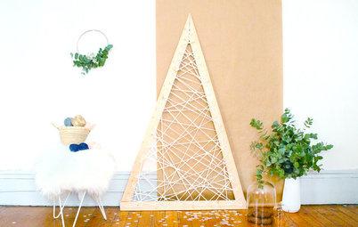 Chez les Houzzers : 9 sapins de Noël faits maison