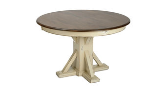 Montgomery Pedestal Table, 48""
