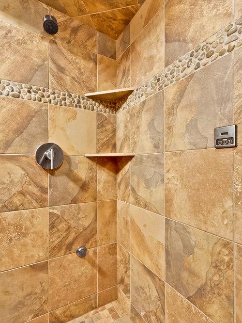 shower corner shelves design ideas remodel pictures houzz. Black Bedroom Furniture Sets. Home Design Ideas
