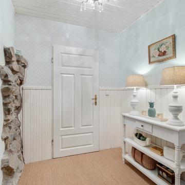 Klassicher Eingangsbereich in Landhausstil