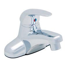 Bellingham Single Handle Centerset Faucet, Pop-Up Drain, Polished Chrome