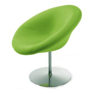 Artifort Little Globe Chair by Pierre Paulin  Set of 4  Tonus Green  Artifort