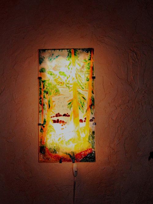 Glass Panel For Ikea Gyllen Wall Lamp