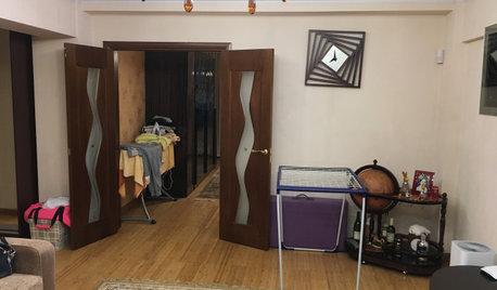 До и после: Квартира в историческом центре Алма-Аты
