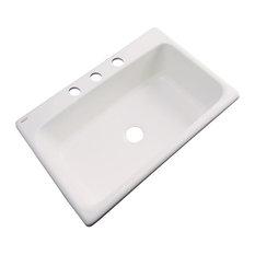 SolidCast - Wilmington 3-Hole Kitchen Sink, Natural - Kitchen Sinks