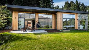 Architectural Panoramic Lake View Home